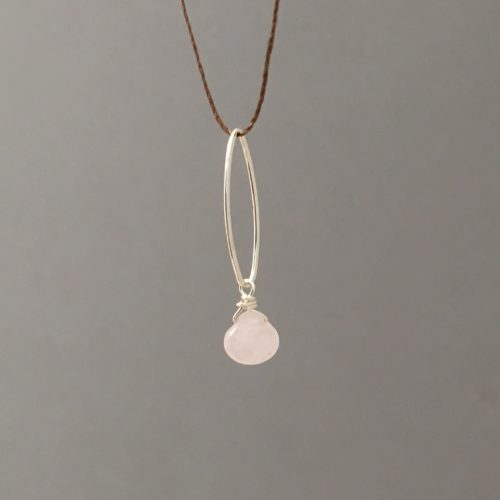 pink rose quartz string main