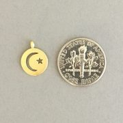 JSJ star and moon disc coin